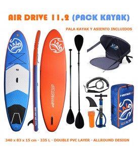 SUP AIR DRIVE 11,2 (PACK KAYAK)