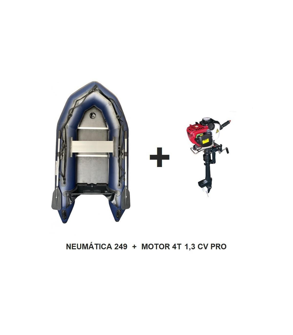 LANCHA NEUMÁTICA OZEAM 249 CON MOTOR