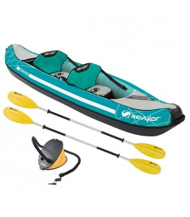 KAYAK HINCHABLE SEVYLOR MADISON KIT