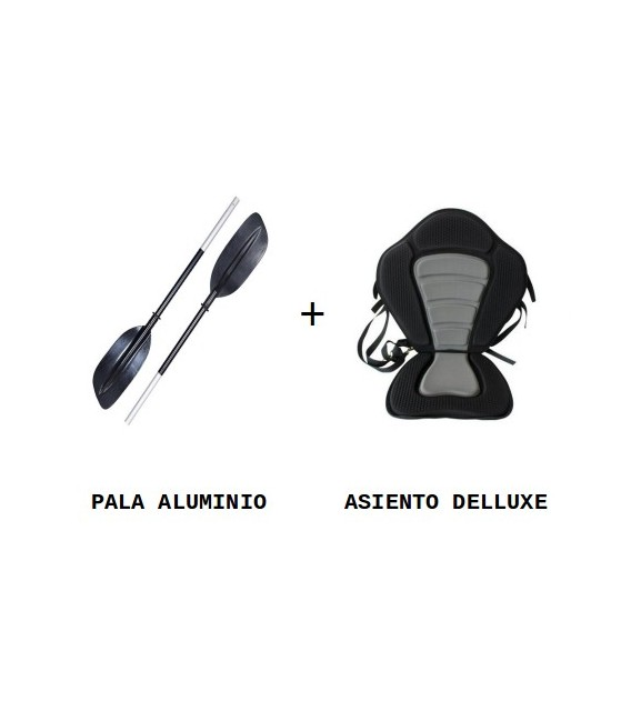 ASIENTO DELUXE + PALA (PACK RECREO)