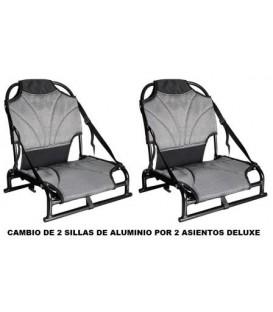 SILLAS ALUMINIO X 2 (CAMBIO)