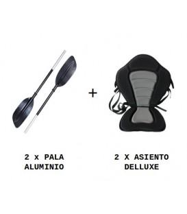 2 ASIENTOS + 2 PALAS PACK (CANARIAS)