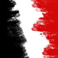 Blanco Rojo Negro